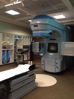 The scary radiation machine