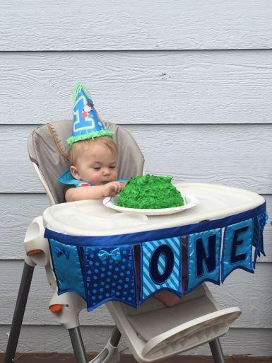Tucker Turns 1, June 2015