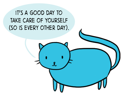 Self Care Cat